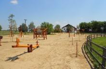 Játszótér a Pusztai Állatparkban